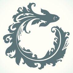 Ornamental Fish Tattoo