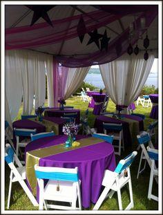 Arabian Nights Birthday Tent