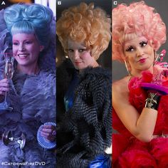 Three Effie outfits…which is your favorite? - The Hunger Games, Catching Fire