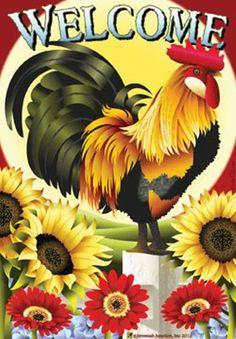 Картинки по запросу rooster and sunflower