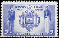 US Stamps 1936 army-navy series Scott # 785-794