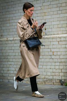 London Fashion Week Mens SS 2018 Street Style: Jo Ellison