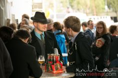 At the festival in May 2014 Craft Beer Fest, Slow Travel, Vienna Austria, 18th