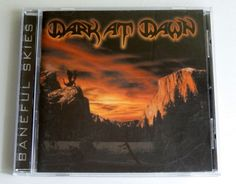 Dark At Dawn - Baneful Skies (CD, 2000, Iron Glory) Mint Condition