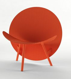 Hypetex Halo lounge chair :: Michael Sodeau