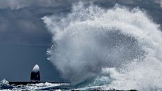 WoW! Twenty of the best images from the contenders for the annual Mirabaud Yacht Racing Image of the year.