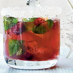 Holiday Mojito | MyRecipes.com