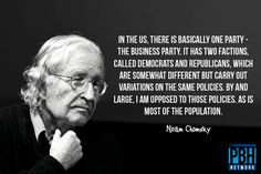 Interesting Quotes Chomsky On The American Political System