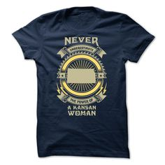 NEVER UNDERESTIMATE THE POWER OF A Kansan WOMAN S3 - Li T Shirt, Hoodie, Sweatshirt