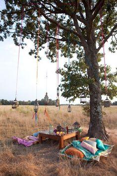 bohemian picnic