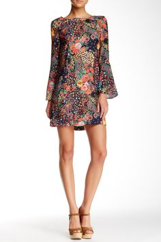 Floral Shift Dress by ECI on @nordstrom_rack