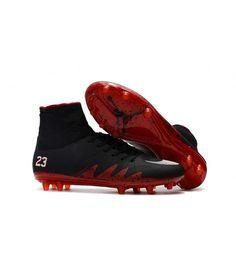 low priced 7abd5 71121 Nike Hypervenom Phantom II FG PEVNÝ POVRCH Neymar NJR x JORDAN High Top kopačky  černá červená