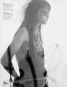 "Tasha Tilberg, ""Freewheeling"" by Craig McDean, W Magazine, February 2001"