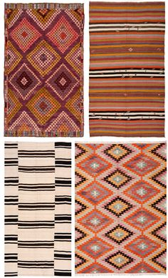 vintage rug patterns from Loom