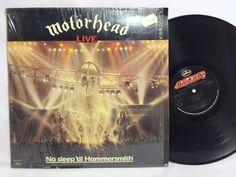 Motorhead Live No Sleep 'til Hammersmith LP Vinyl Record in-shrink
