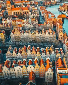 Places Around The World, Around The Worlds, Places To Travel, Places To Visit, Gdansk Poland, Visit Poland, Neuschwanstein, Underground Cities, Countries Of The World