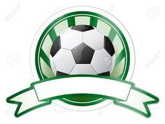 Soccer Emblem Royalty Free Cliparts, Vectors, And Stock . Baseball Party, Soccer Party, Soccer Ball, Soccer Birthday Parties, Football Birthday, Soccer Theme, Soccer Games, Football Field, Football Soccer