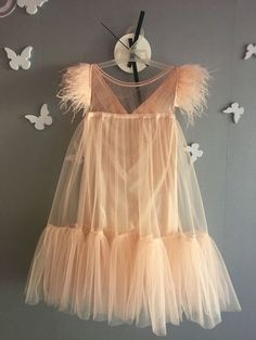 Tulle dress for girls Baby Girl Fashion, Toddler Fashion, Kids Fashion, Little Girl Dresses, Girls Dresses, Flower Girl Dresses, Little Fashionista, Outfits Niños, Kids Outfits