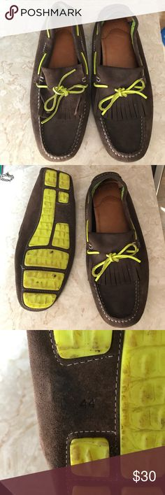 Zara men's suede shoes Worn but Good condition Zara Shoes Loafers & Slip-Ons