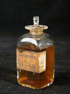 ~ Parecoric bottle 1740 - 1800 Parecoric is tincture of Opium ~