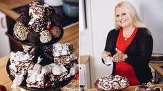 Fra hjemmelaget konfekt til desserter: Her er bakedronningens beste julegodt Homemade Candies, Ice Cream, Sweets, Candy, Christmas, Recipes, Baking, No Churn Ice Cream, Sweet Pastries