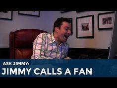 ▶ Ask Jimmy: Jimmy Fallon Calls a Fan - YouTube