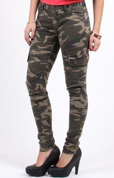 3225005571 Women'S Camouflage Cargo Pants NEW With TAG | eBay Camouflage Cargo Pants,  Military Fashion,