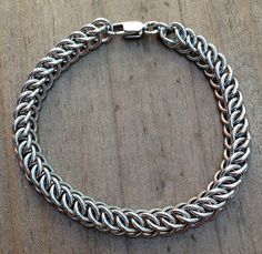 Womens Stainless Steel Bracelet Half Persian 3in1 by Faroutmaille, $70.00