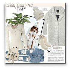 """Teddy Bear Coats"" by katrina-byrd-jones ❤ liked on Polyvore featuring Maison Scotch, Topshop, Gucci, Michael Kors, Cartier, Jewelonfire and Miss Selfridge"