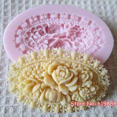 Ucuz  Doğrudan Çin Kaynaklarında Satın Alın: q025 çiçek şekli çikolata kalıpları kek stencil fondan araçları 3d silikon kalıp sabun Malzeme: silikonRenk: pembeKalıp boyutu: 3.8*5*1.2cmAğırlığı: 35g  q012 kız ve güvercin ş