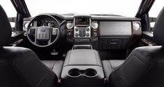 2013 Ford Super Duty Platinum interior