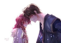 Yona x Hak (Akatsuki no Yona) Yona Akatsuki No Yona, Anime Akatsuki, Manga Anime, Manga Art, Anime Love Couple, Cute Anime Couples, Vocaloid, Kamisama Kiss, Animes On