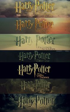 My childhood would not have been the same without Harry Potter <3
