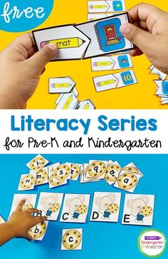 If you're a Kindergarten or Pre-k teacher who is looking for awesome learning resources for your classroom, check out our literacy series! Sign up for FREE to get literacy resources, tips, and activities right to your inbox! This makes lesson planning so much easier! #kindergarten #prek #teachingkindergarten #teaching resources #kindergartenliteracy #prekliteracy