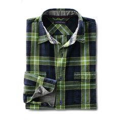 Lands' End Men's Tall Traditional Fit Forewind Twill Shirt ($28) ❤ liked on Polyvore featuring men's fashion, men's clothing, men's shirts, men's casual shirts, tops, blue, lands end mens shirts, mens base layer shirts, mens woven shirts and mens blue shirt