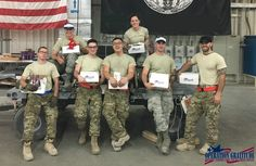 """Operation Gratitude: Thank you very much for your support and thoughtfulness to send my unit these care packages! It was such fun opening them and especially reading the supportive words from so many different people. We really appreciate all that you do! --Ammo Troops"""