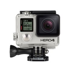 The GoPro Black is the most advanced GoPro ever. Featuring improved image quality and a more powerful processor with faster video frame rates, the Black takes Emmy Award-winning GoPro performance to a whole new level. Camera Reviews, Black Edition, Digital Camera, Wi Fi, Warehouse, Bluetooth, Film, Gopro Hero, Cameras