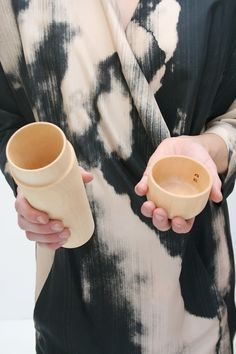 Japanese Wood Tea Canister //
