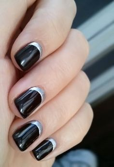 black and silver...perfect for raider games!