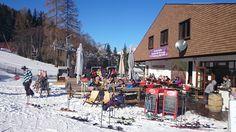 Sonnenterrasse der Strohsackhütte in Bad Kleinkirchheim, Kärnten www.almrausch.co.at