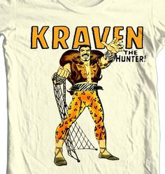 Kraven The Hunter! Watch out Spidey!!