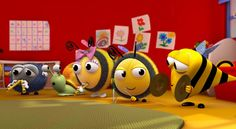 Join Buzzbee and friends in their fun-packed adventures in The Hive!