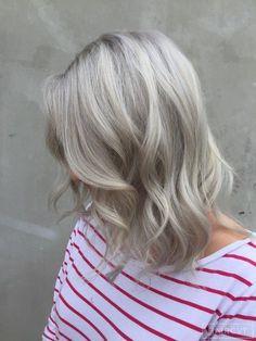 balayage silver blonde - Google Search