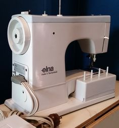 Swiss-made Elna Super Sewing Machine