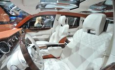 Bentley EXP 9 F SUV concept interior photo