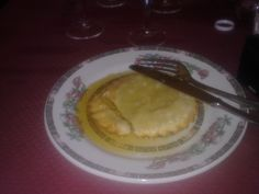 Seadas- A Sardegna specialty, a big pastry filled with pecorino cheese, fried and bathed in orange flavored honey. It is really good.