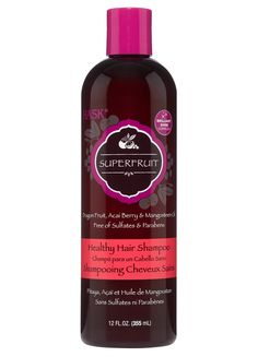 Feed your hair with nurturing goodness! HASK Superfruit Healthy Hair Shampoo introduces dragon fruit, native to Mexico, packed with vitamins and minerals to help remove build-up and renew vibrancy. The brilliant glossing powers of mangosteen oil and strengthening properties of the acai berry help to reclaim and maintain the natural beauty of your hair.