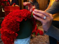 The Bargain Bride: How to make a carnation ball
