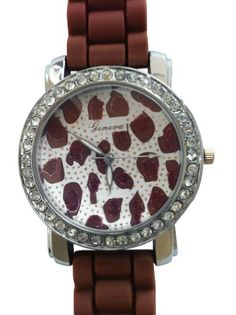 http://interiordemocrats.org/geneva-brown-silver-oversized-leopard-face-silicone-watch-silver-tone-cz-rhinestone-accented-bling-bezel-p-6694.html