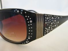 Designer Inspired Celebrity Wear Rhinestone Sunglasses